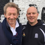 Denis Law and Mark Williams